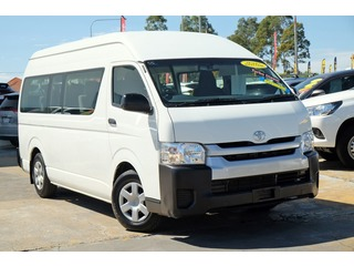 2017  Toyota Hiace Commuter Bus (White) Pre-Owned Car Thumbnail