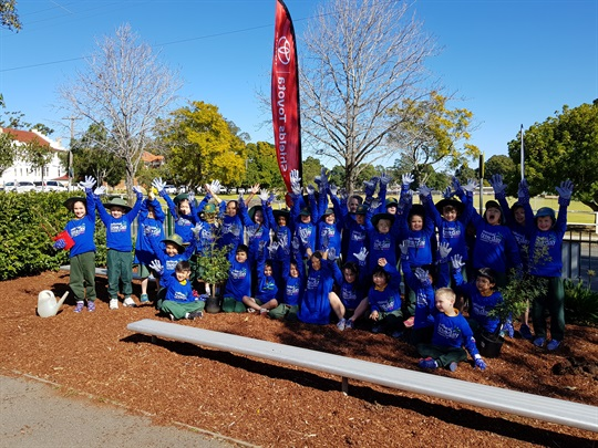 Schools Tree Day - Burnside Public School & North Rocks Public School